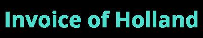 Invoice of Holland Logo